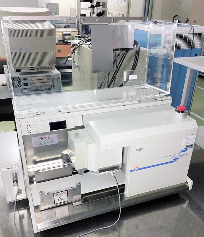 CDM法 試験機