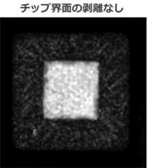 SAT観察事例 (QFPパッケージ品内部観察)